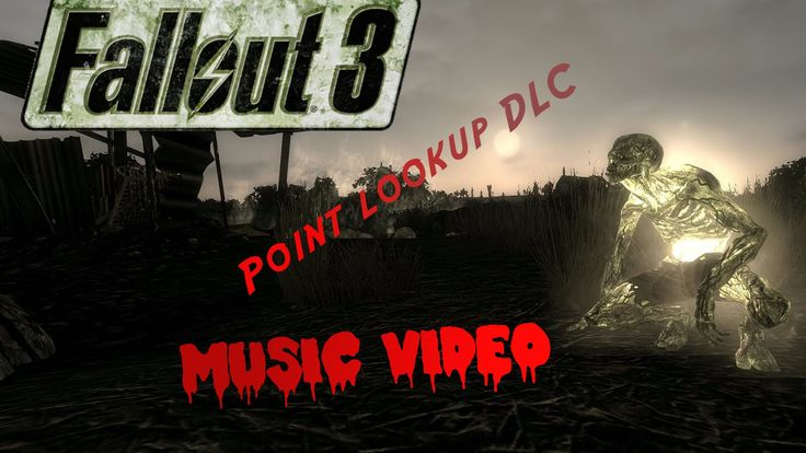 Fallout 3 Point lookup DLC music video #2