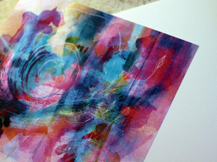 watercolors,print