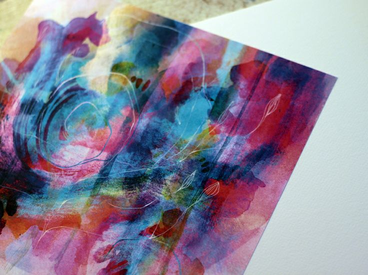 watercolors,print