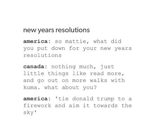 hetalia - new year resolutions And then America sings the song Firework by Katy Perry