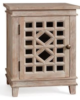 Luella Nightstand Washed Mango From Pottery Barn Bhg