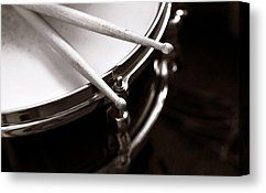 Sticks On Snare Drum by Rebecca Brittain - Sticks On Snare Drum Photograph - Sticks On Snare Drum Fine Art Prints and Posters for Sale