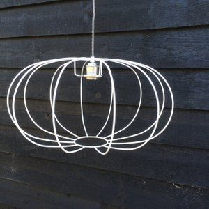 The 25 best wire lampshade ideas on pinterest quirky home decor image of pumpkin lampshade frame keyboard keysfo Images