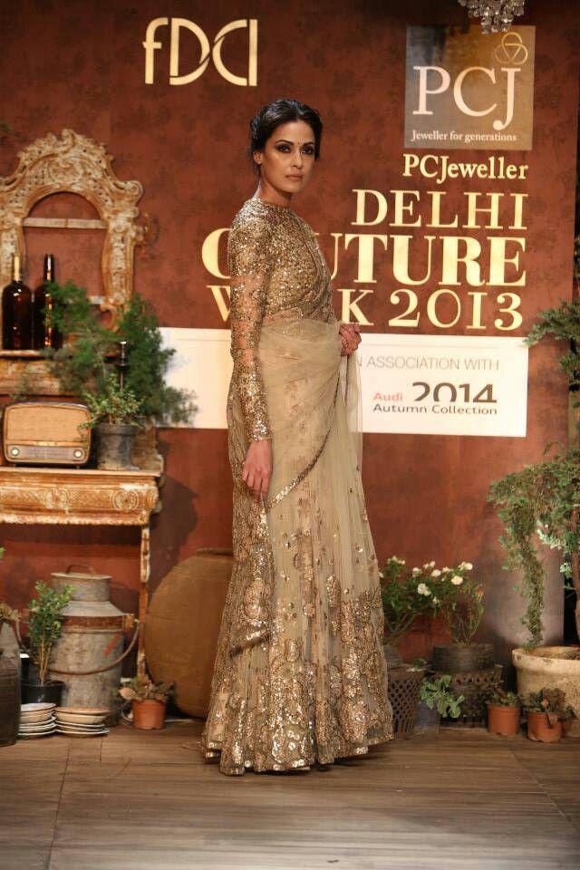 Sabayaschi Mukherjee PC Delhi Couture Week 2013