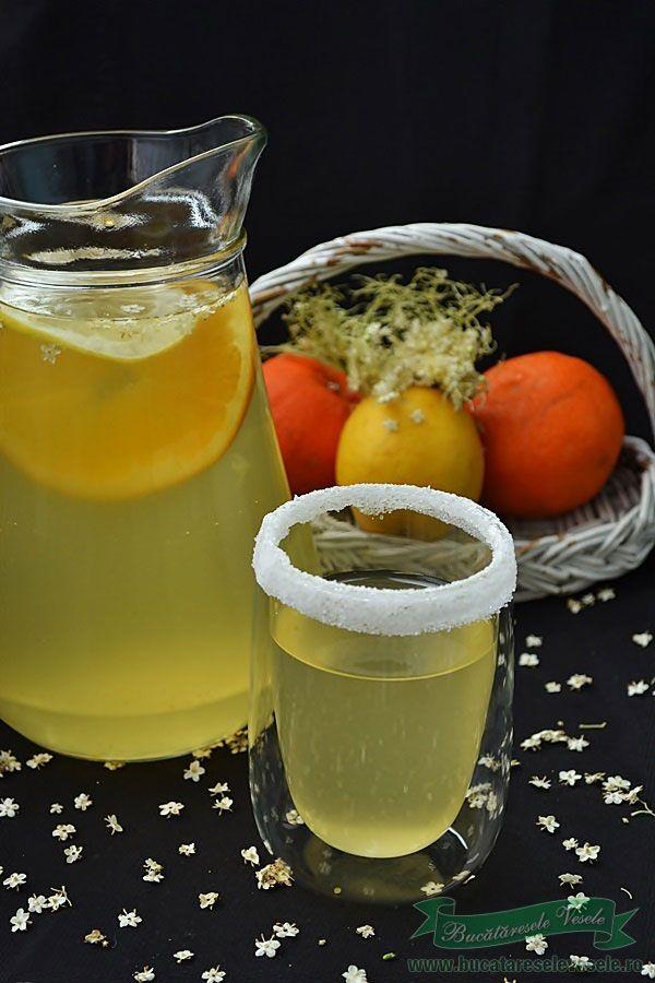 Reteta Socata.Preparare socata.Reteta suc de soc.Preparare socata cu lamaie si portocale.Socata aromata.Bautura racoritoare.Suc de soc.