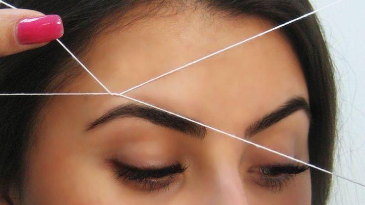 Этот способ нужно видеть! Видео, которое мы предлагаем посмотреть, научит тебя выщипывать брови необычным методом....