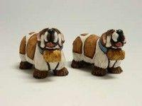 today is #NationalDogDay USA - and we found these nice ceramic #dogs for friends :)  #Hunde aus Keramik zum #NationalDogDay der USA
