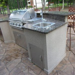 Stainless Steel Sink For Outdoor Kitchen