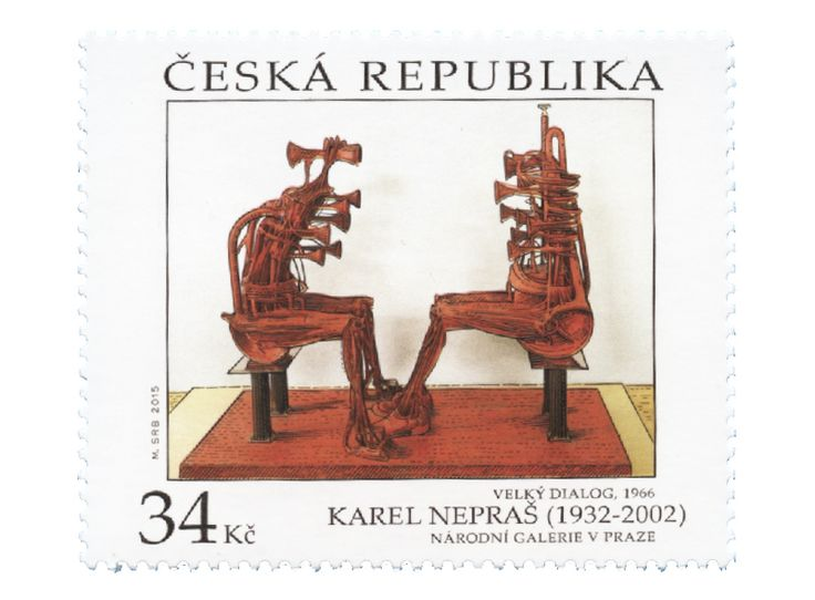 COLLECTORZPEDIA Works of Art on Postage Stamps: Karel Nepras