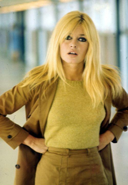 Brigitte Bardot angry at a photographer. Circa 1968.