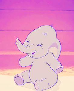 Young Dumbo is adorable !!