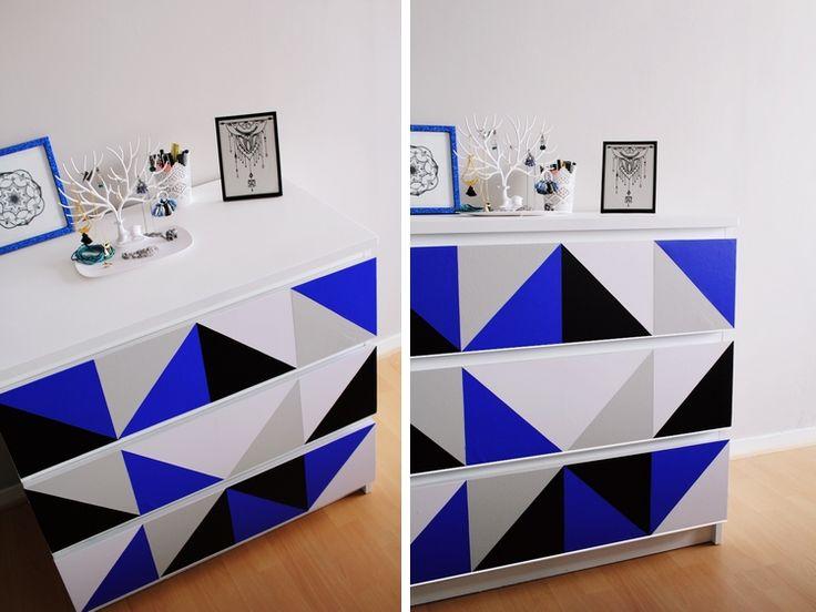 Ikea hack - Relooking d'une commode Malm - Les Meilleures Astuces ! :)