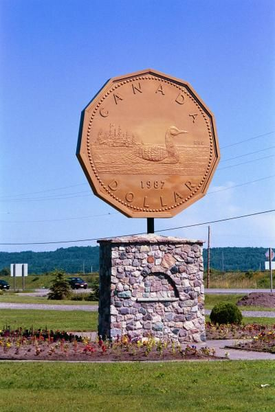 Giant Loonie - Sugested by: Stephanie McQuaid