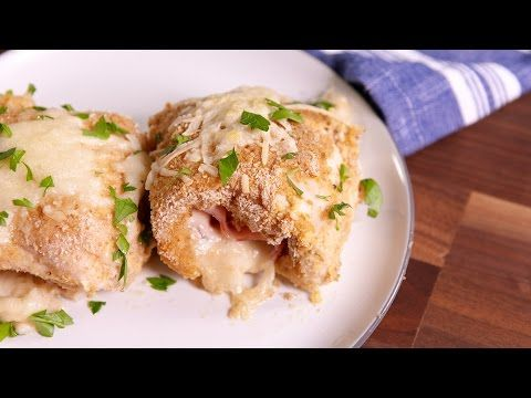Cooking Chicken Cordon Bleu Roll-Ups Video - Chicken Cordon Bleu Roll-Ups How to…