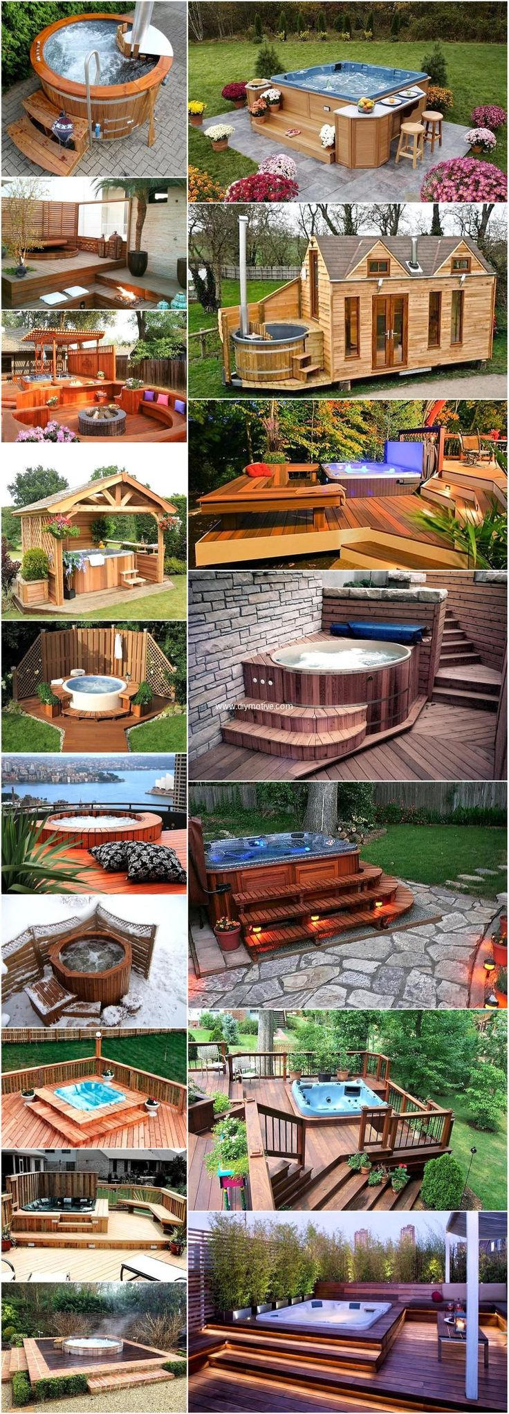 Mind Blowing Ideas for Patio Hot Tubs