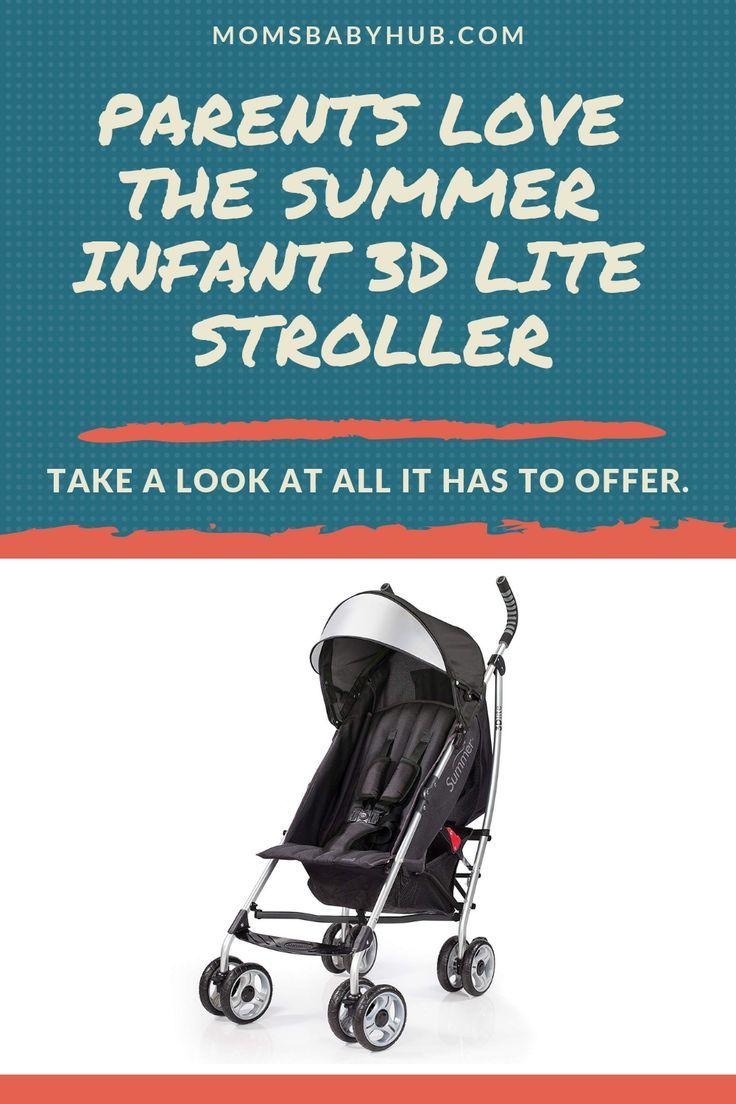 Summer Infant 3D Lite Convenience Stroller Review Summer