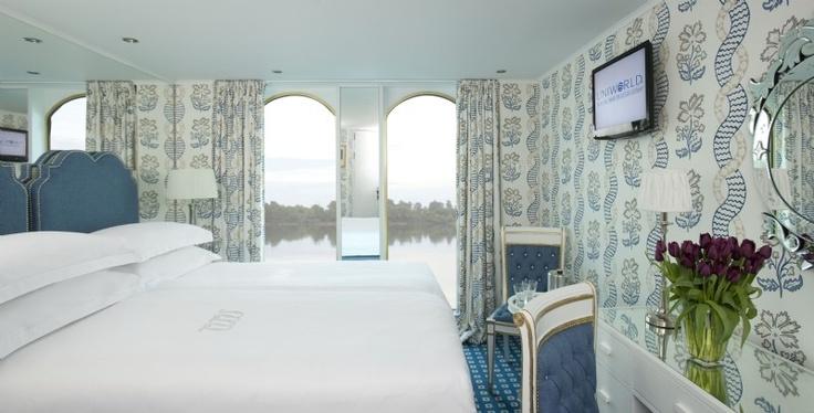 River Queen Stateroom - Courtesy Uniworld
