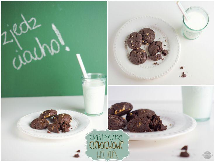 Vegan chocolate cookies.