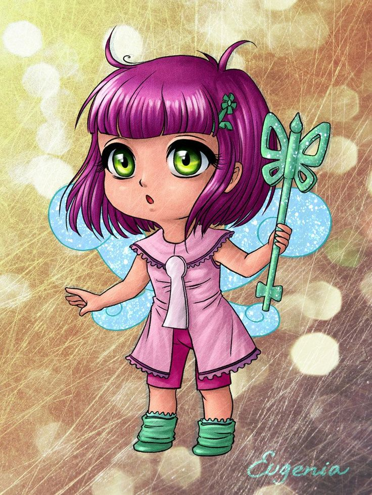 Картинки аниме пикси