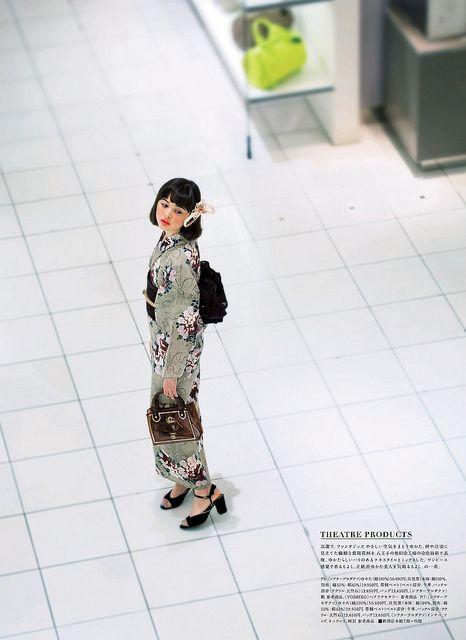 玉城ティナ ISETAN YUKATA SELECTION 2013 by g2slp, via Flickr