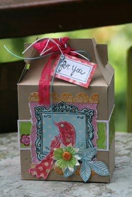 Gift Box Template. This looks so cute. adailyinspiration.blogspot.com.au/2009/08/kirs-gable-box.html