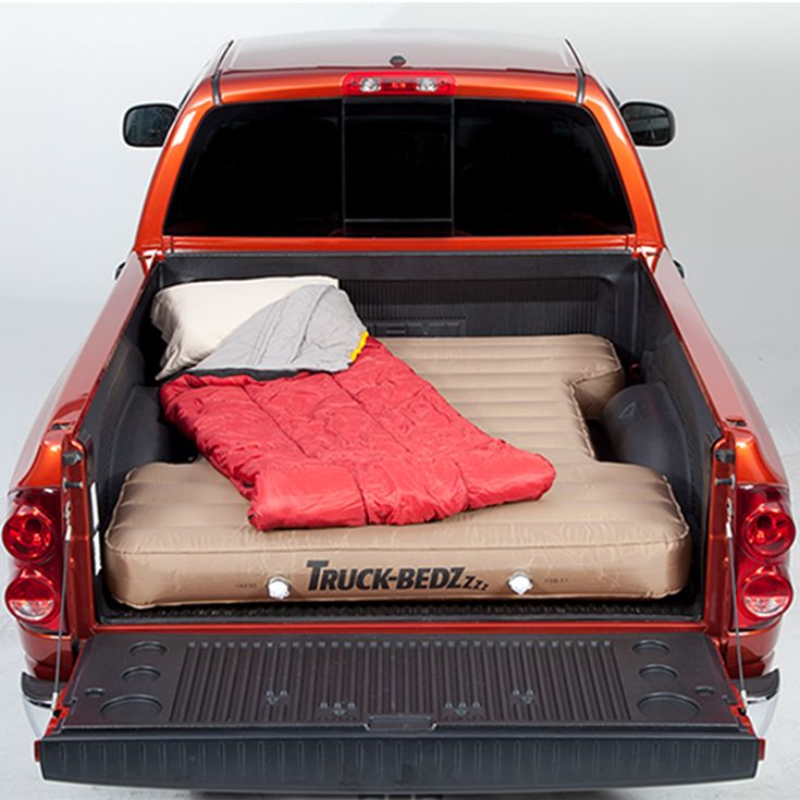 Truck Bedz Air Mattress - Sleeping in your pickup bed doesn't have to be a pain in the back. Truck Bedz air mattresses are designed to fit directly into your truck bed-offering nights of relaxed slumber away from home