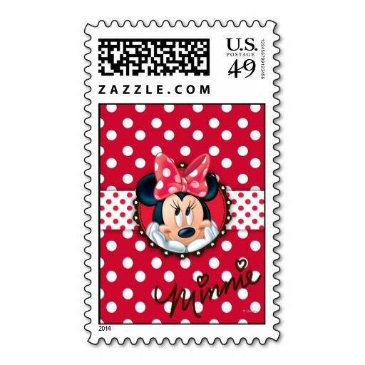 Minnie Polka Dot Frame Stamps. It is really great to make each letter a special delivery! Add a unique touch to invites or cards with your own photos or text. Just click the image to learn more!