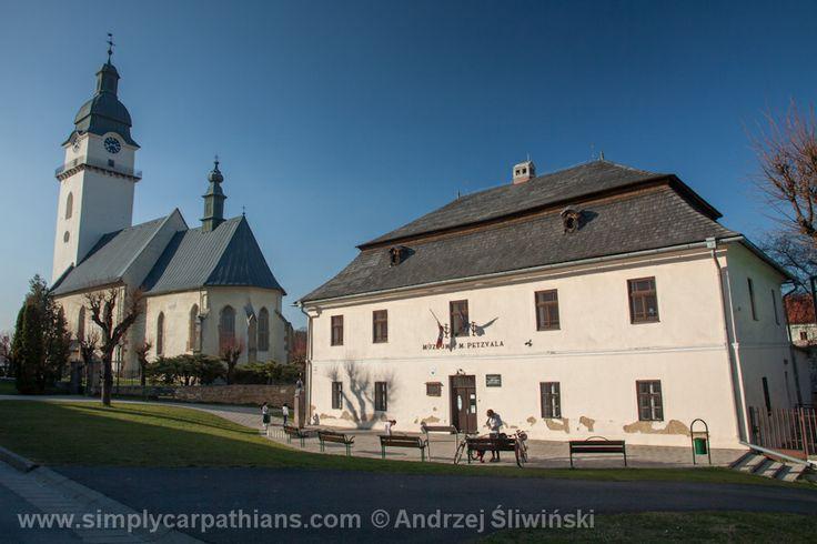 Old town in Spisska Bela #Slovakia www.simplycarpathians.com
