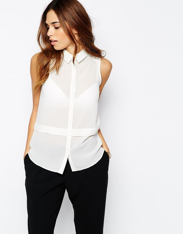 Image 1 - New Look - Chemise sans manches