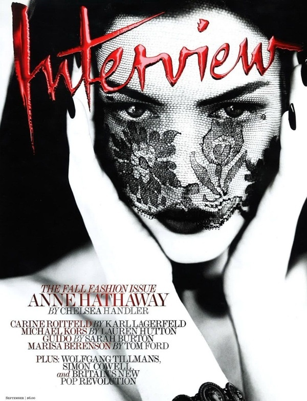 #cover Interview #magazine feat. Anne Hathaway (15th Annual SPD Magazine of the Year finalists)