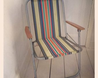 upright deck chairs 70s - Google Search