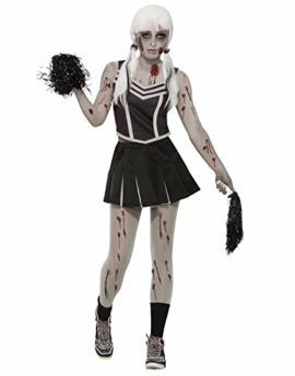 Forum Zombie Cheerleader Adult Costume STD Tag a friend who can pull this off! #Zombie #Halloween #Costume