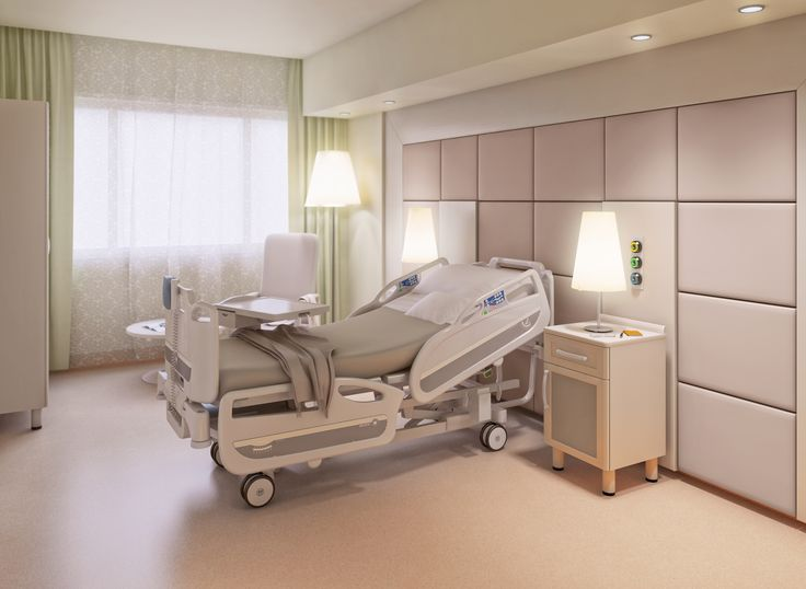 Hospital VIP Room - Bed