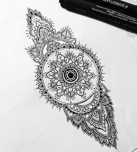 Mandala Eye Tattoo Designs