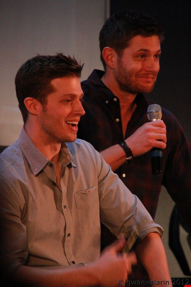 Big Dean, little Dean SO PERFECT.  It's like they got a time machine and found jensen when he a teen.  I think somebody should make a picture of all the ages of the boys.