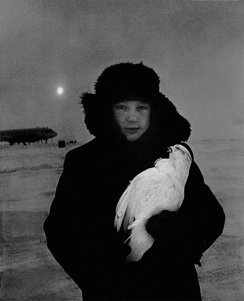 Siberia. 65° degrees below zero photo Mario De Biasi 1964