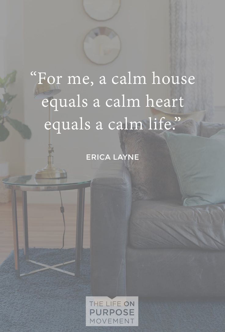 Organization Tips for Moms | For women who feel like a calm house equals a calm heart.
