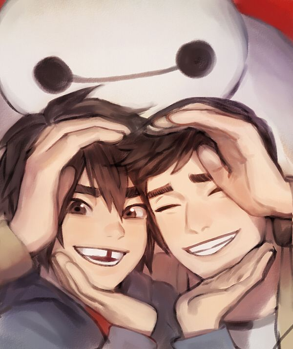 Hiro and Tadashi <3