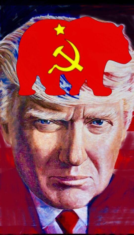 Comrade Trump, America has been infiltrated.