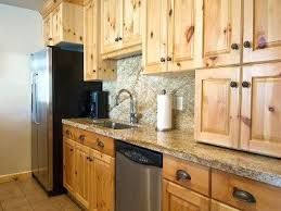 Image result for modern knotty pine cabinets