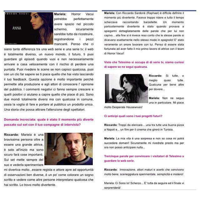 Nuove intervista per Telesimo.it :-)  #interview #actress #we #italy #roma #lovemyjob