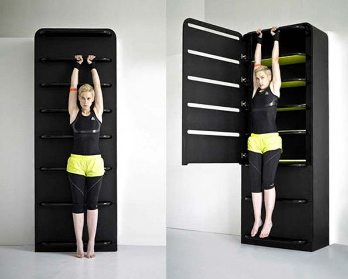 Best Home Gym Ideas Images On Pinterest Exercise Rooms - Home gym for small spaces