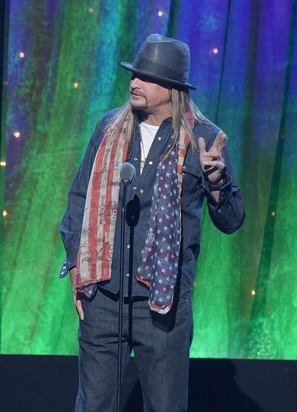 Kid Rock Photos - 31st Annual Rock and Roll Hall of Fame Induction Ceremony - Show - Zimbio