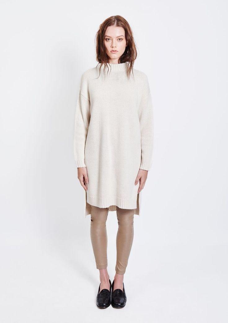 Imonni - Revival Knit Tunic Cream