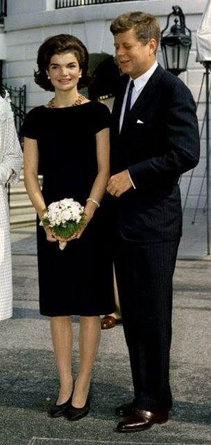 The President and Mrs Kennedy