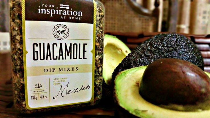 The Perfect Guacamole 2 ripe avocados 1 teaspoon YIAH Lime & Cracked Pepper Salt 1 lime juiced 2 green onions thinly sliced or 1 small red onion minced 2 tablespoons YIAH Guacamole Dip Mix