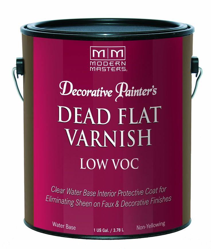 Modern Masters DP400 Interior Dead Flat Varnish Low VOC Quart
