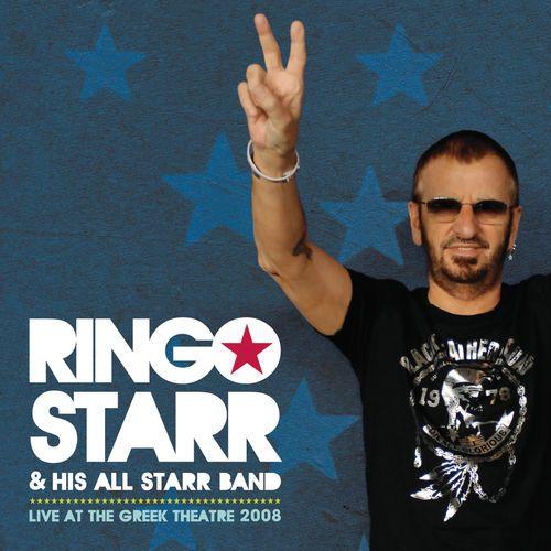 Ringo Starr & His All Starr Band - Live At The Greek Theatre 2008    Hip-O Records 80014546-02 -  Enregistré le 2 août 2008 - Sortie en juillet 2010    Note: 3/10