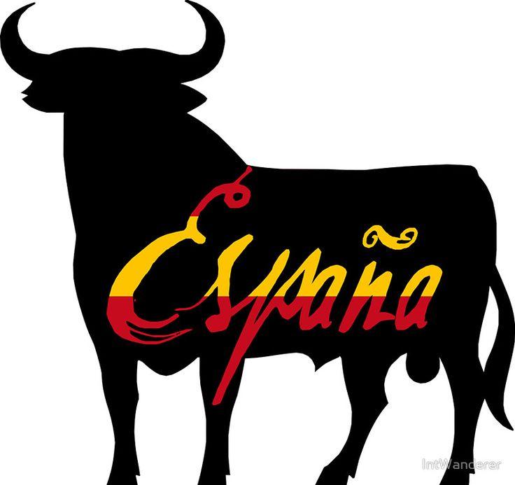 España - Spain - Toro - The Bull and the Spanish Flag - Version 2
