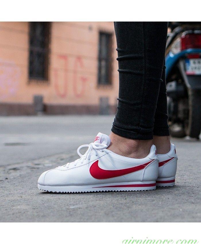 Expresión Percibir Consejos  Parkour Shoes   Nike cortez white, Nike, Nike cortez